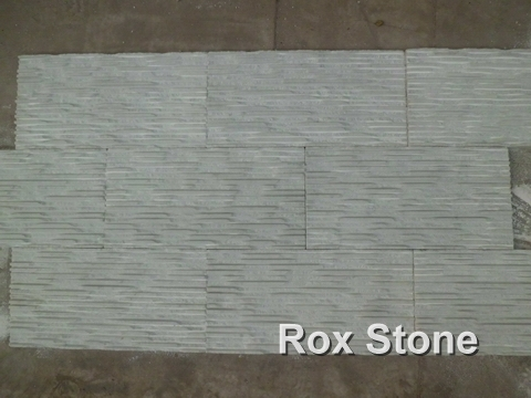 White Marble Pull ditch Wall Cladding Stone